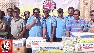 Telugu Association of Southern California Conducts Food Drive In Los Angeles  USA NRI News - netivaarthalu.com