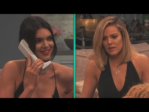 Kendall Jenner Totally Fails at Prank Calling Kim Kardashian on 'Kocktails With Khloe'