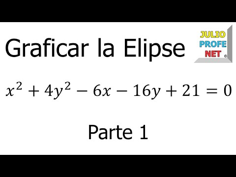 Graficar una Elipse (parte 1 de 2)-Graph a Ellipse (part 1 of 2)