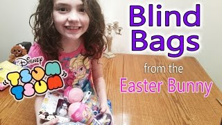 Blind Bags from the Easter Bunny Disney Tsum Tsum and Surprise Eggs
