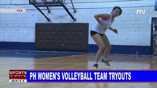 SPORTS BALITA   PH Women's Volleyball team tryouts