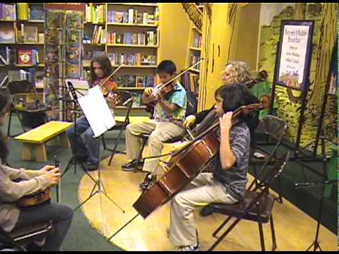 In My Life by the  Beatles - Green Meadow Waldorf School 6th grade string quartet cover - 11/07/2010