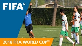 Referees take steps towards Russia 2018