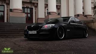 Bagged BMW 7 Series