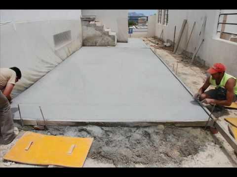 Nogosa proceso de aplicaci n de pavimento de hormig n for Precio de hormigon impreso