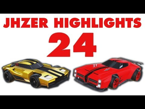 JHZER Highlights Montage 24 - Competitive Rocket League