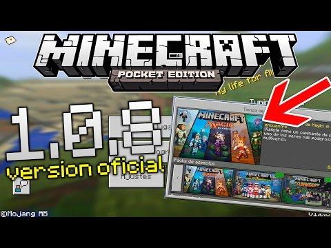 Minecraft Pocket Edition v0.10.5 [APK][DESCARGA]