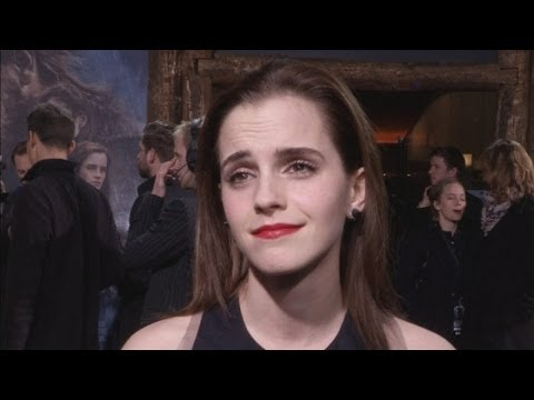Noah premiere: Emma Watson and Douglas Booth on the red carpet in Berlin