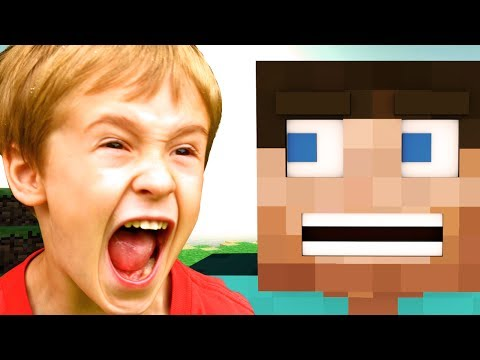 Minecraft House Trolling/Griefing (FUNNY Reactions)