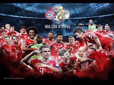 Dante - Und Pokal auch (FC Bayern Offizieller Triple Song 2013)