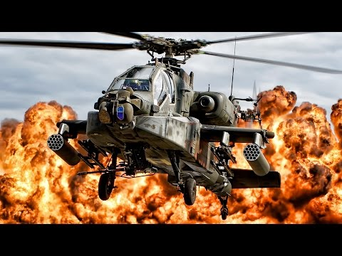 Apache Attack Helicopter • Combat Gun Camera Footage