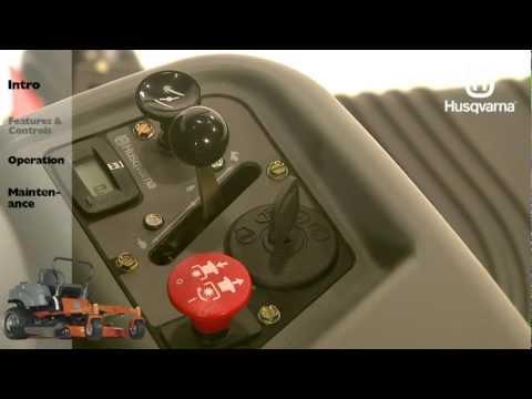 Husqvarna RZ-series Zero Turn Mowers: Features & Controls