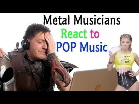 Metal Musicians React to POP Music