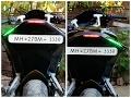 DIY audi type DRL/INDICATORS/BRAKE LIGHTS || Modified Pulsar RS200