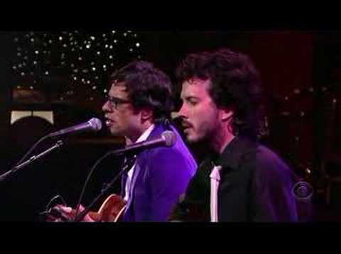 Flight of The Conchords on Letterman Music Videos