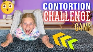 Hilarious Twisting Contortion Challenge || Family Game Night