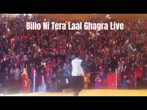 Billo Ni Tera Laal Ghagra - Live on stage by Sahara (UK)