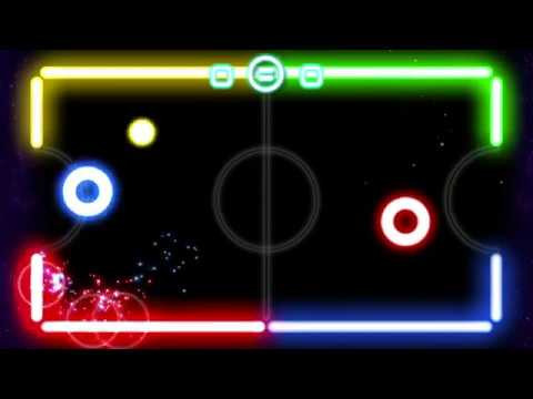 Glow Hockey Official Trailer 2018 - for Android Google Play & iPhone iOS Appstore