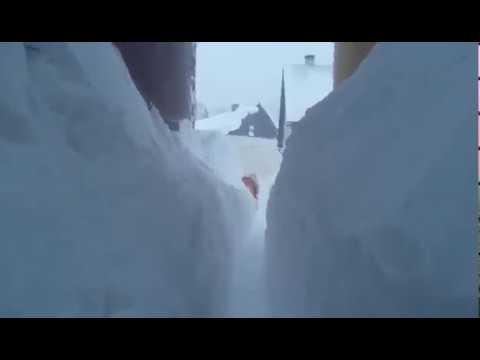 U Delnicama oboren apsolutni rekord u snijegu 182 cm 27.2.2018.