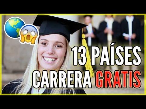 UNIVERSIDADES GRATIS - 13 países en los que estudiar gratis