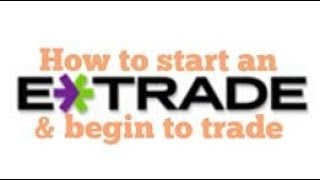 Is $500 enough to start with etrade