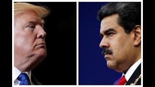 Trump issues stark warning to Venezuelan military, Maduro hits back at 'Nazi-style speech'