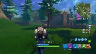 Ps4 Fortnite gameplay solo game