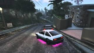 GTA5 - AE86 Drift