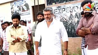 3 - Thala Ajith Veshti Dance | Veeram Tamil Movie Making Video | Shooting Spot | Dhoti