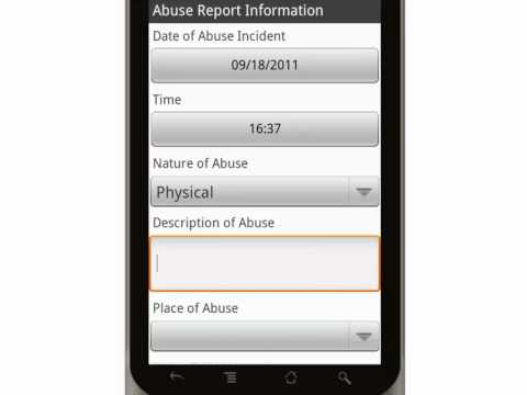 Canvas Suspected Child Abuse Report Form Mobile App.mp4 video