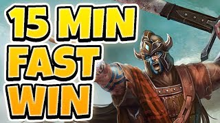 WINNING IN 15 MINUTES! BEATING MASTER TIER PLAYERS FAST  - League of Legends Full Gameplay