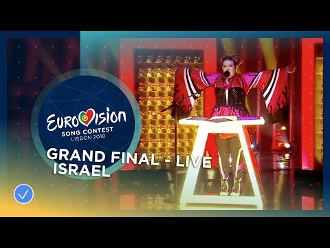Netta - Toy - Israel - LIVE - Grand Final - Eurovision 2018