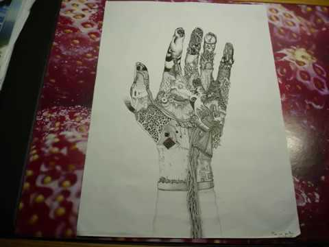 Surrealism Hands Drawing Surrealistic Speed Drawing