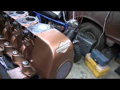 HOMEMADE 4 CYLINDER BRIGGS PROJECT (part 19)