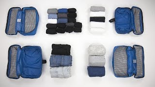 6 AMAZINGLY Compact Ways to Fold Clothes for Packing PART TWO