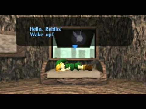The Legend of Zelda - Ocarina of Time - Legend of Zelda Ocarina of Time - Video Tutorial HD Game walkthrough - PART 1 - Opening - User video