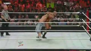 WWE Summerslam 2009 Randy Orton vs John Cena - WWE Championship