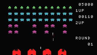 Space Invaders Japan Microsoft MSX 1 I Cartridges HYPERSPIN NOT MINE VIDEOS
