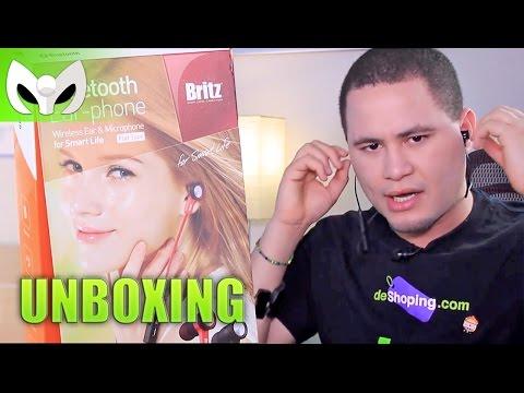 Ear-Phone Bluetooth #AudifonosBritz (Unboxing - Deshopping.com)