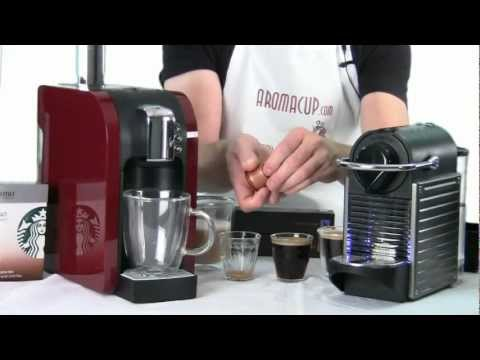 Nespresso Pixie vs Starbucks Verismo