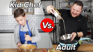 Kid Chef Vs. Adult: Thanksgiving Leftovers Challenge