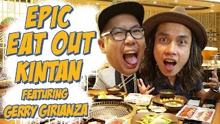 Epic Eat Out #13: Meat Party with Gerry Girianza at Kintan | PUTRA SIGAR
