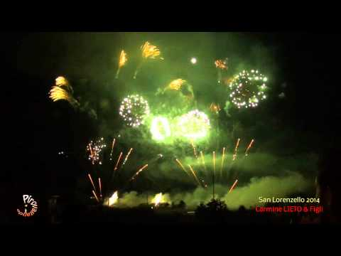 SAN LORENZELLO (Benevento) - 10 Agosto 2014 Festeggiamenti in onore di San Lorenzo Martire Grandioso spettacolo piromusicale a cura di: Carmine LIETO & Figli...