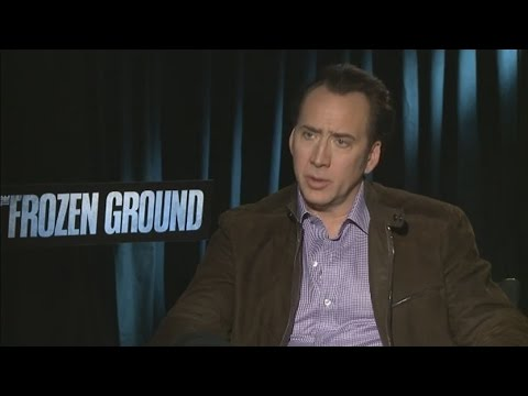 Nicolas Cage - Interview for 'The Frozen Ground' (2013)