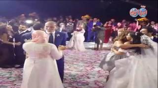 أخبار اليوم حسن الرداد وايمي سمير غانم يرقصان على حط ايده ياه