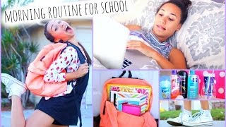 Morning Routine For School! | MyLifeAsEva