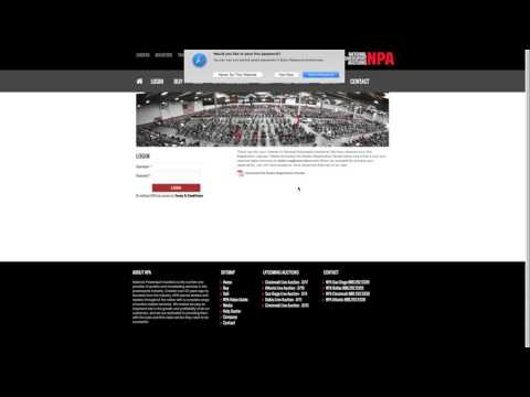HOW TO REGISTER WITH NATIONAL POWERSPORT AUCTIONS