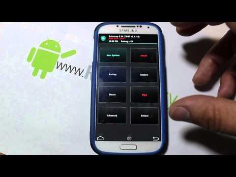 Samsung Galaxy S4 ME7 Safe Strap custom recovery install