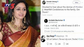Celebrities Tweets On Actress Sridevi's Sudden Demise