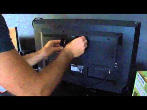 How to Mount a Flat Screen  HDTV on the Wall